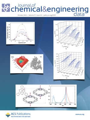 Journal of Chemical & Engineering Data: Volume 57, Issue 10