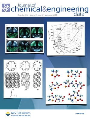 Journal of Chemical & Engineering Data: Volume 57, Issue 12