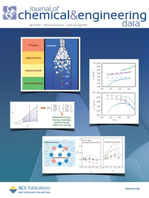 Journal of Chemical & Engineering Data: Volume 59, Issue 4