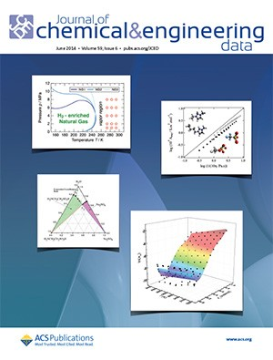 Journal of Chemical & Engineering Data: Volume 59, Issue 6