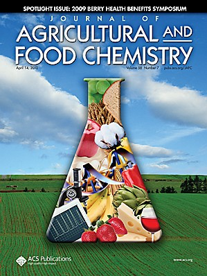 Journal of Agricultural and Food Chemistry: Volume 58, Issue 7