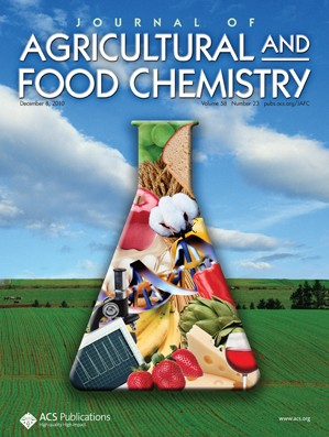 Journal of Agricultural and Food Chemistry: Volume 58, Issue 23