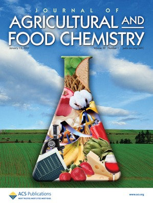 Journal of Agricultural and Food Chemistry: Volume 59, Issue 1