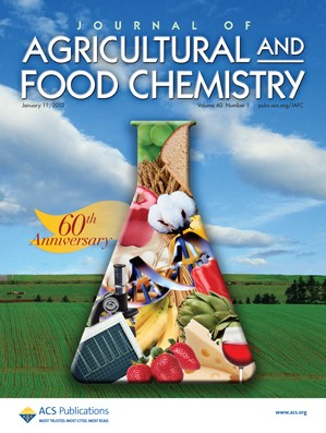 Journal of Agricultural and Food Chemistry: Volume 60, Issue 1