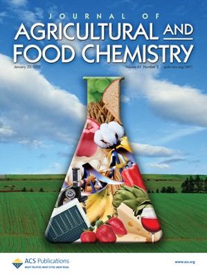 Journal of Agricultural and Food Chemistry: Volume 61, Issue 3