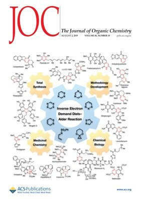 Journal of Organic Chemistry: Volume 84, Issue 15