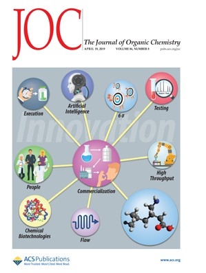Journal of Organic Chemistry: Volume 84, Issue 8
