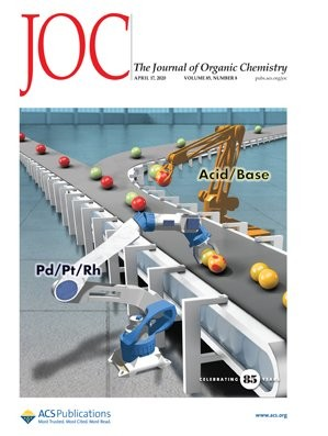 Journal of Organic Chemistry: Volume 85, Issue 8