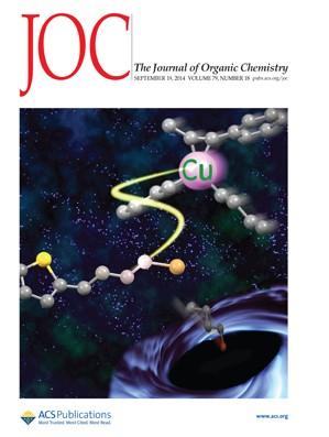 Journal of Organic Chemistry: Volume 79, Issue 18