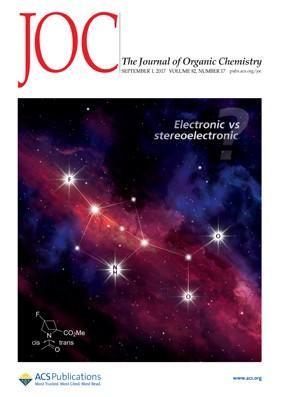 Journal of Organic Chemistry: Volume 82, Issue 17