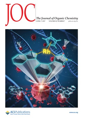 Journal of Organic Chemistry: Volume 82, Issue 7