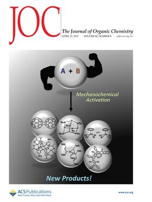 Journal of Organic Chemistry: Volume 82, Issue 8