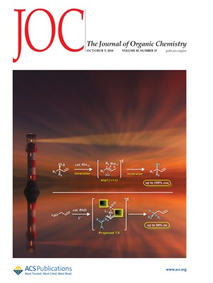 Journal of Organic Chemistry: Volume 83, Issue 19