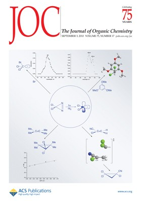 The Journal of Organic Chemistry: Volume 75, Issue 17