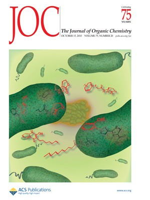 The Journal of Organic Chemistry: Volume 75, Issue 20