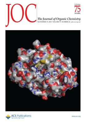 The Journal of Organic Chemistry: Volume 75, Issue 22