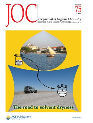 The Journal of Organic Chemistry: Volume 75, Issue 24