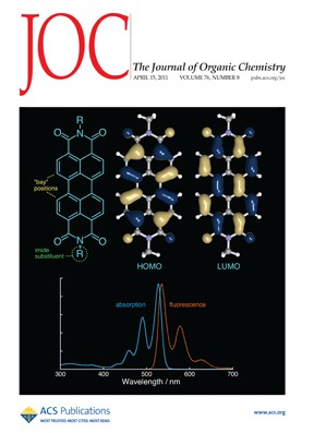 The Journal of Organic Chemistry: Volume 76, Issue 8