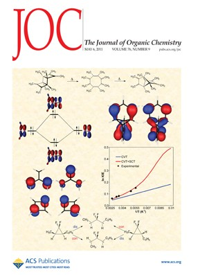 The Journal of Organic Chemistry: Volume 76, Issue 9