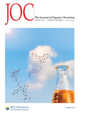 The Journal of Organic Chemistry: Volume 76, Issue 15