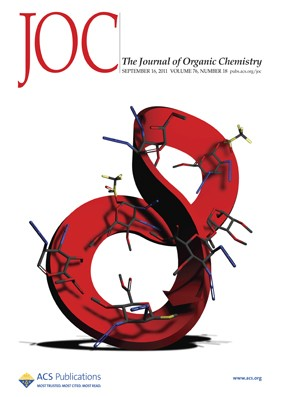 The Journal of Organic Chemistry: Volume 76, Issue 18