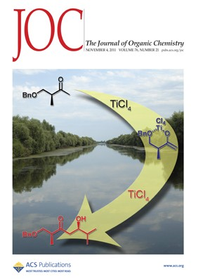 The Journal of Organic Chemistry: Volume 76, Issue 21