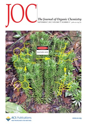The Journal of Organic Chemistry: Volume 77, Issue 17