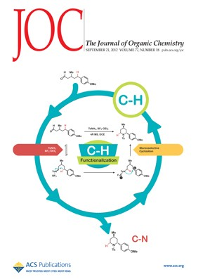 The Journal of Organic Chemistry: Volume 77, Issue 18