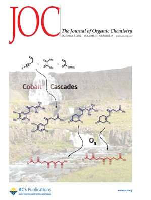 The Journal of Organic Chemistry: Volume 77, Issue 19