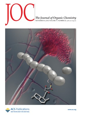 The Journal of Organic Chemistry: Volume 77, Issue 22