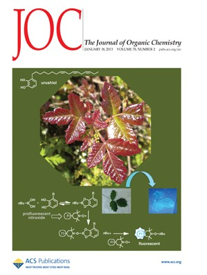The Journal of Organic Chemistry: Volume 78, Issue 2