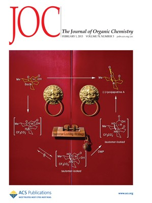 The Journal of Organic Chemistry: Volume 78, Issue 3