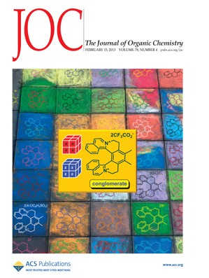 The Journal of Organic Chemistry: Volume 78, Issue 4