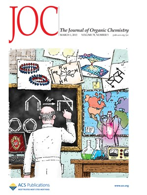 The Journal of Organic Chemistry: Volume 78, Issue 5
