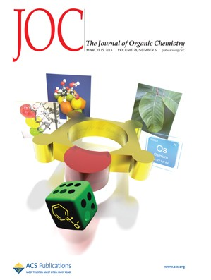 The Journal of Organic Chemistry: Volume 78, Issue 6