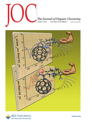 The Journal of Organic Chemistry: Volume 78, Issue 7