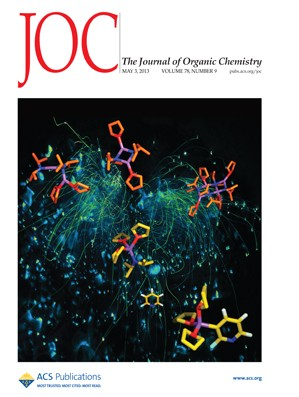 The Journal of Organic Chemistry: Volume 78, Issue 9