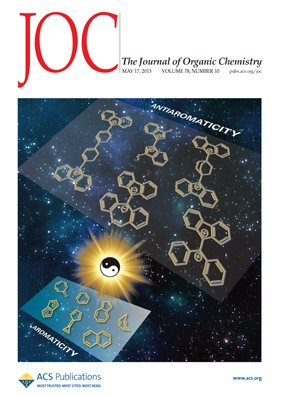 The Journal of Organic Chemistry: Volume 78, Issue 10