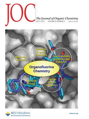 The Journal of Organic Chemistry: Volume 78, Issue 13