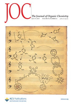 The Journal of Organic Chemistry: Volume 78, Issue 14