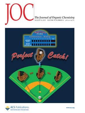 The Journal of Organic Chemistry: Volume 78, Issue 16