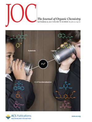 The Journal of Organic Chemistry: Volume 78, Issue 18