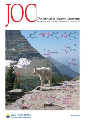 The Journal of Organic Chemistry: Volume 78, Issue 20