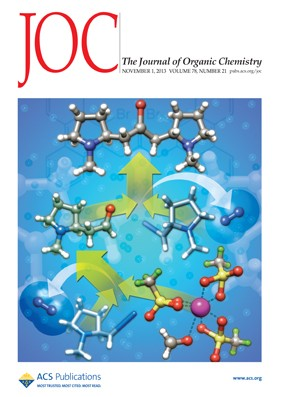The Journal of Organic Chemistry: Volume 78, Issue 21