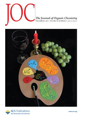 The Journal of Organic Chemistry: Volume 78, Issue 23