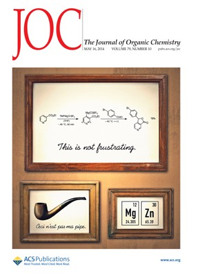 The Journal of Organic Chemistry: Volume 79, Issue 10