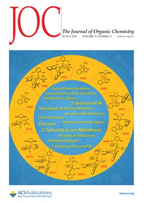 The Journal of Organic Chemistry: Volume 79, Issue 11
