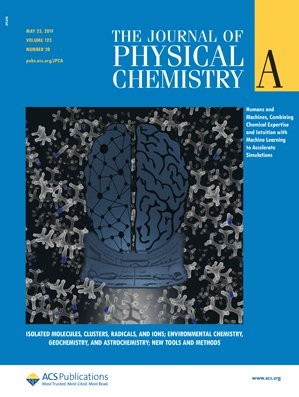 Journal of Physical Chemistry A: Volume 123, Issue 20