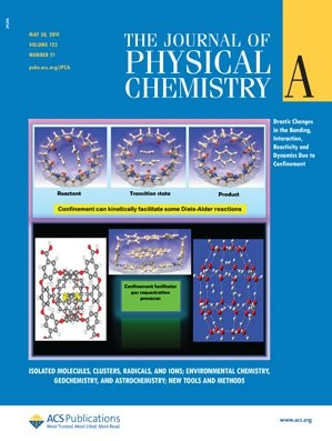 Journal of Physical Chemistry A: Volume 123, Issue 21