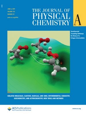 Journal of Physical Chemistry A: Volume 123, Issue 22